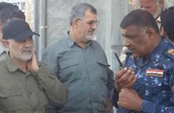 سليماني والقائد البري للحرس الثوري يصلان مشارف الفلوجة