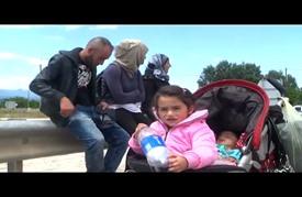"""اليونان تنقل ألفي مهاجر من """"إيدوميني"""" إلى مخيمات شمالي البلاد"""