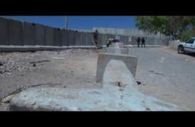 """الاحتلال يضيّق الخناق على بلدة """"حزما"""" ببناء جدار عازل ثان"""