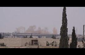 مقاتلات النظام السوري تقصف المحاصيل الزراعية بريف حلب