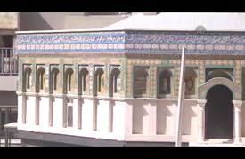 """نحّات مسيحي أردني يصمم مجسما لـ """"قبة الصخرة"""""""