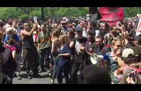 مسيرات احتجاجية في فرنسا ضد مشروع قانون العمل