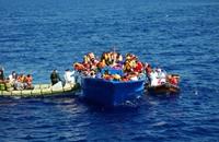 أنباء عن غرق سفينة قبالة ايطاليا وعليها المئات